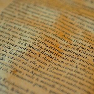 ancient latin text